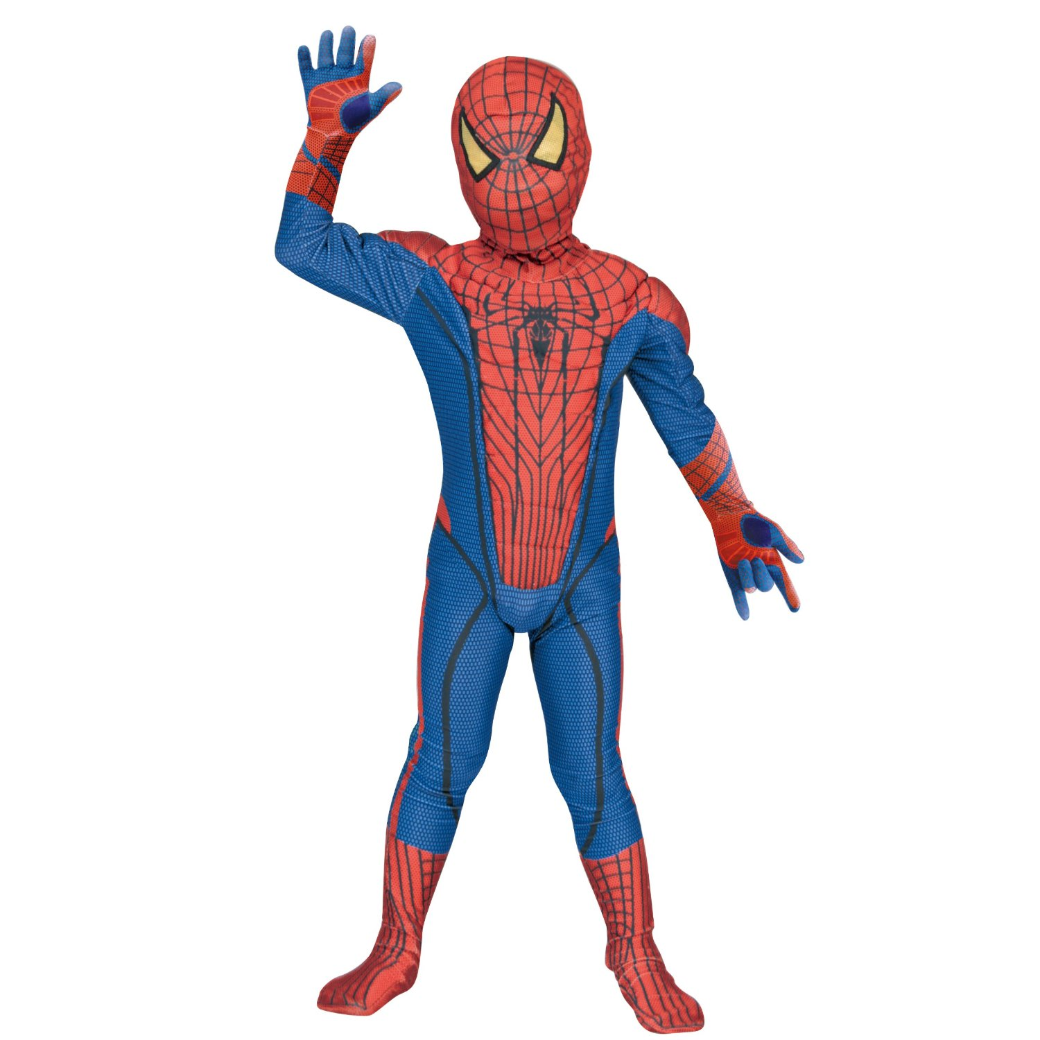 NEW The Amazing Spider Man costume KIDS RUBIE'S spiderman Halloween L ...